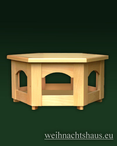 Seiffen Weihnachtshaus - Pyramiden- Tisch Höhe 30 cm - Bild 1
