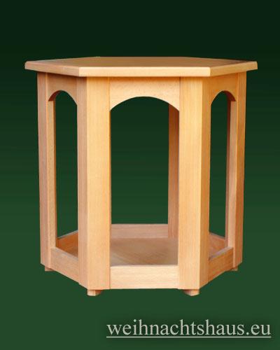 Seiffen Weihnachtshaus - Pyramiden- Tisch Höhe 65 cm - Bild 1