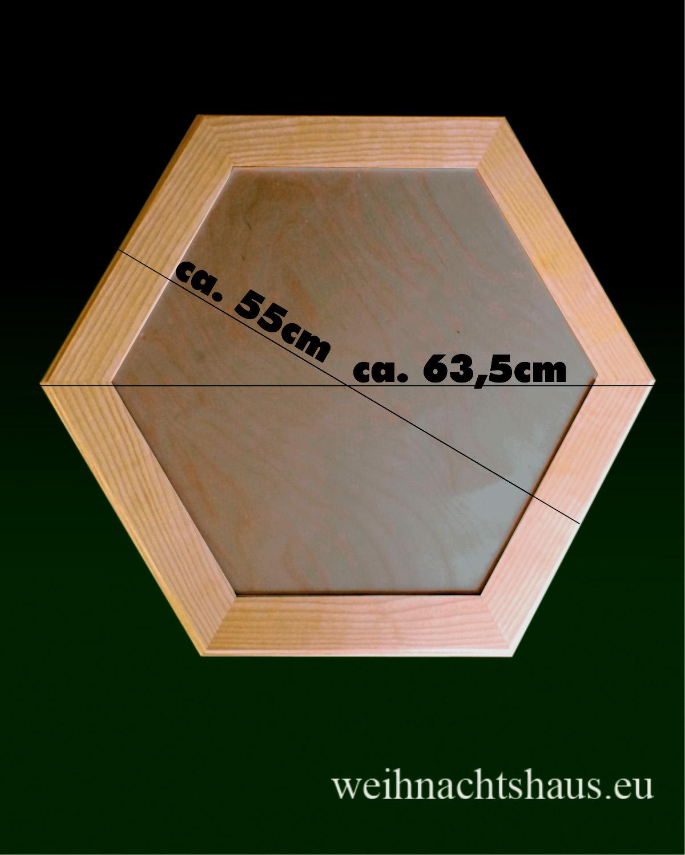 Seiffen Weihnachtshaus - Pyramiden- Tisch Höhe 60 cm - Bild 2