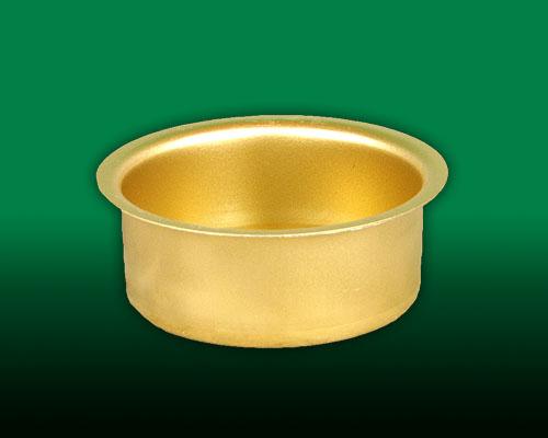 Seiffen Weihnachtshaus - Teelichtmetalleinsatz hohe Ausführung - Bild 1