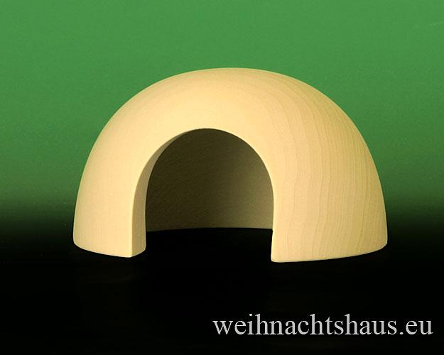 Seiffen Weihnachtshaus - Schneemann Erzgebirge Wagner Iglu - Bild 1