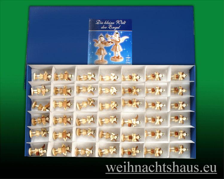 Seiffen Weihnachtshaus - -Karton-für-Engel Blank/ Engelkarton- Engelsbett - Bild 2
