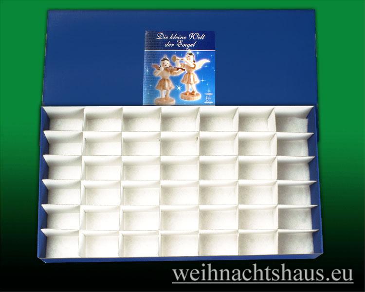 Seiffen Weihnachtshaus - -Karton-für-Engel Blank/ Engelkarton- Engelsbett - Bild 1