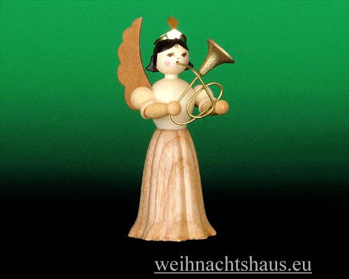 Seiffen Weihnachtshaus - Langrockengel natur Bariton - Bild 1