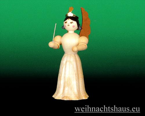 Seiffen Weihnachtshaus - Langrockengel natur Dirigent - Bild 1