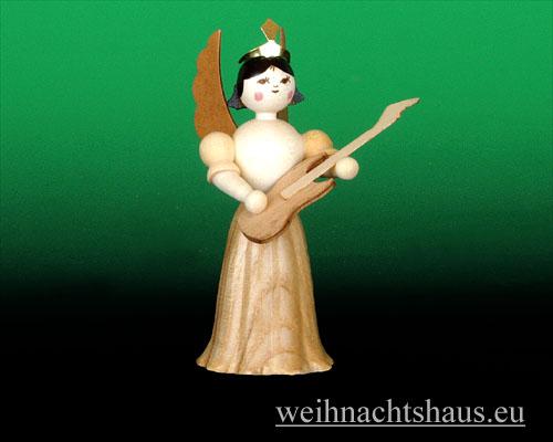Seiffen Weihnachtshaus - Langrockengel natur E-Gitarre - Bild 1