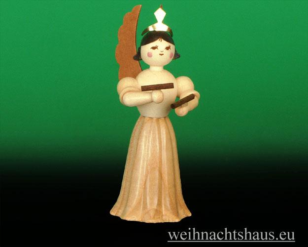 Seiffen Weihnachtshaus - Langrockengel  natur Klanghölzer NEU 2012 - Bild 1