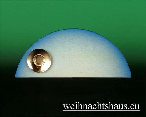 Seiffen Weihnachtshaus - Wolke farbig 1-stufig - Bild 1