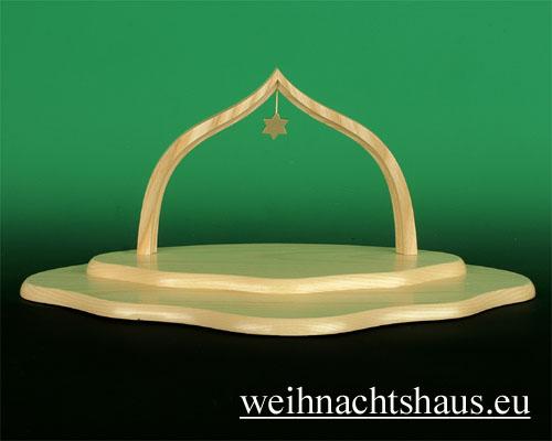 Seiffen Weihnachtshaus - Engelwolke natur 2-stufig - Bild 1