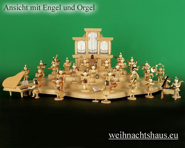 Seiffen Weihnachtshaus - Engelwolke natur 4-stufig - Bild 3