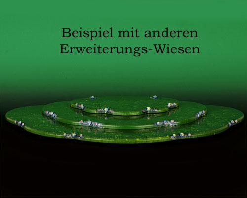 Seiffen Weihnachtshaus - Hubrig Wiese grün klein - Bild 2
