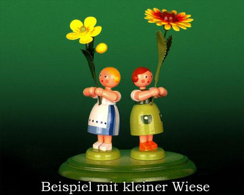 Seiffen Weihnachtshaus - Sommerblumenkind 12cm Kokardenblume - Bild 2