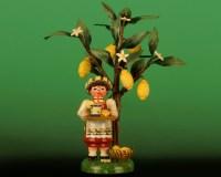 Hubrig Neuheit 2013 Blumenjunge mit Tagetes 11cm Erzgebirge
